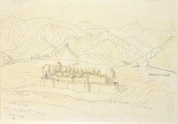 The Fort, Leh (Kashmir). January 1869